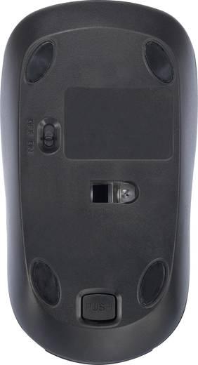 Vezeték nélküli optikai egér, fekete/szürke, Basetech M105GX