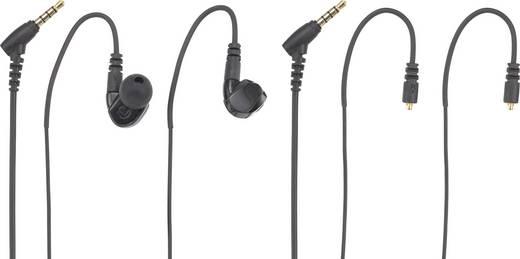 In-Ear hallójárati mikrofonos fülhallgató, headset, fülmonitor kivitelű renkforce GT300