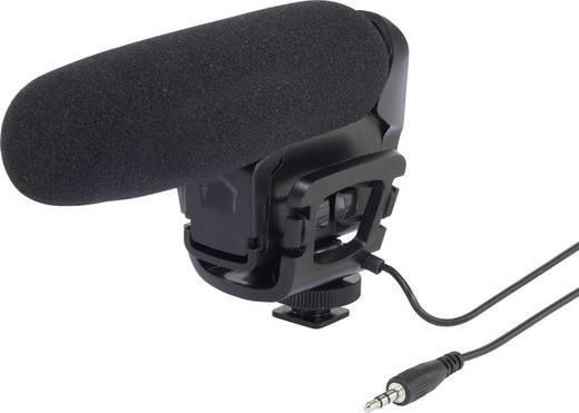 Kamerára, fényképezőgépre szerelhető puskamikrofon Renkforce VM-6
