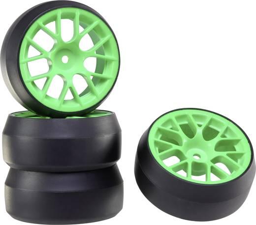 Reely 1:10 készre szerelt közúti kerék Drift Y-küllős, zöld 1 db
