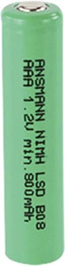 Mikroceruza akku AAA NiMH, 1,2V 800 mAh, Ansmann HR3, HR03, UO100557, DC2400, DC2400B4N, LR03