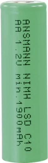 Ceruza akku AA, NiMH, 1,2V 1900 mAh, Ansmann LSD LR06, AA, LR6, AAB4E, AM3, 815, E91, LR6N