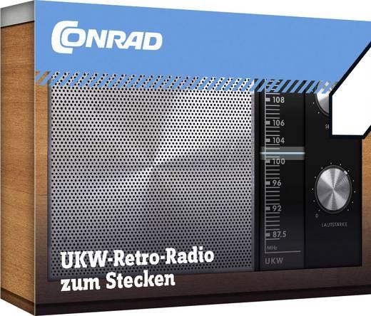 Retro URH rádió építőkészlet, Conrad 10196