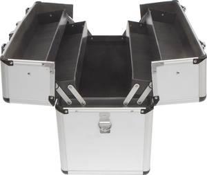 Üres alukoffer, pilótakoffer, szerszámos koffer 450 x 320 x 225 mm Toolcraft 1409408 TOOLCRAFT