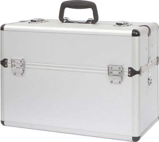 Üres alukoffer, pilótakoffer, szerszámos koffer 450 x 320 x 225 mm Toolcraft 1409408