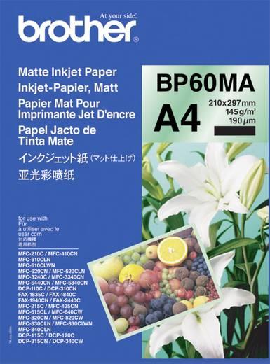 Tintasugaras nyomtatópapír Brother BP60MA DIN A4 145 gm² 25 lap Fehér
