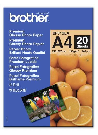 Fénykép papír Brother BP61GLA DIN A4 190 gm² 20 lap Magasfényű