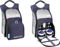Piknik hűtőtáska, hűthető hátizsák 10,4L-es, ezüst színű Ezetil Travel in Style 10 Backpack Navy Ezetil