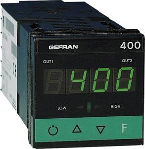 Gefran 400-RR-1-000 Hőmérséklet szabályozó J, K, R, S, T, B, E, N, Pt100, PTC -55 ... 120 °C Relé, 5 A Gefran