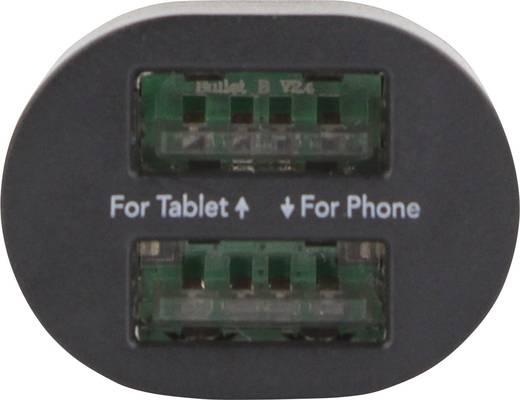 Szivargyújtó USB töltő adapter 2 USB aljzattal max. 3100 mA Ansmann Duo USB-Car-Charger 3.1A