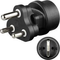 India/magyar konnektor átalakító úti adapter, Goobay 95412 (95412) Goobay