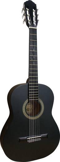 3/4-es gyerek gitár, akusztikus tanuló gitár, fekete színű MSA Musikinstrumente MI-36