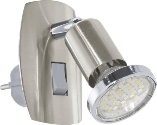 Konnektorba dugható LED-es olvasólámpa 3 W, nikkel (matt), EGLO Mini 4 92924