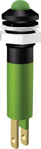 LED jelzőlámpa 24V 5mm zöld