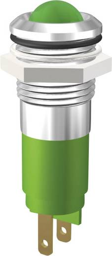 LED jelzőlámpa 24V 10mm zöld Signal Construct SWBU14724