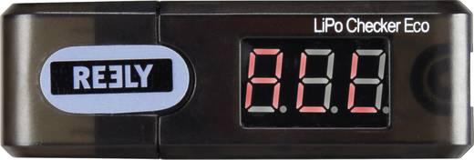 LiPo akku teszter, 1-6 cella, Reely LiPo-Checker