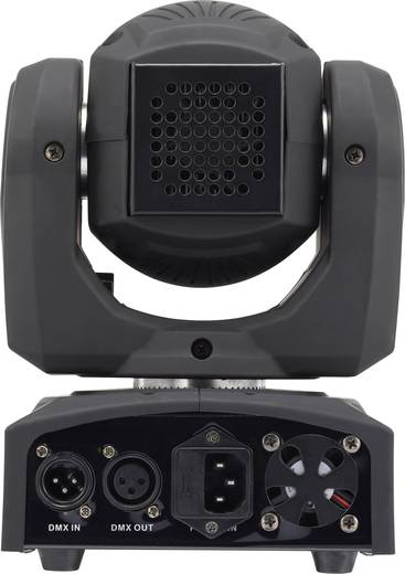 LED-es effektsugárzó, 1x30 W, renkforce GM106NS LED MOVING HEAD