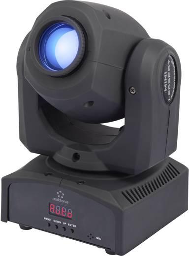 LED-es effektsugárzó, 1x30 W, renkforce GM106NS LED MOVING HEAD