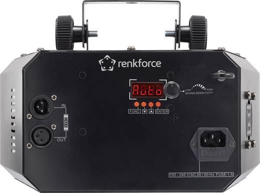 LED-es effektsugárzó, 5x3 W, renkforce DL-1115 + UV
