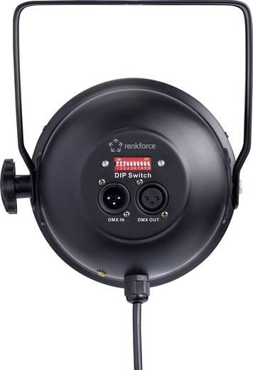 LED-es pontsugárzó, 151 LED, renkforce TT-016B PAR-56