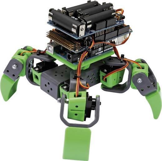 Robot építőkészlet, négy lábú robot, Velleman ALLBOT® VR408