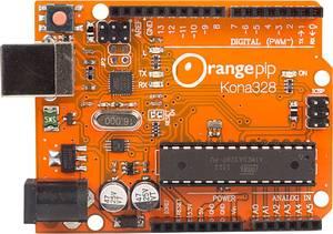 Orangepip Fejlesztői panel UNO ATMega328 Orangepip