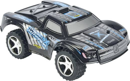 RC távirányítós modellautó, mini monstertrack 1:32 méretű RtR 2,4 GHz Carson Micro X-Warrior