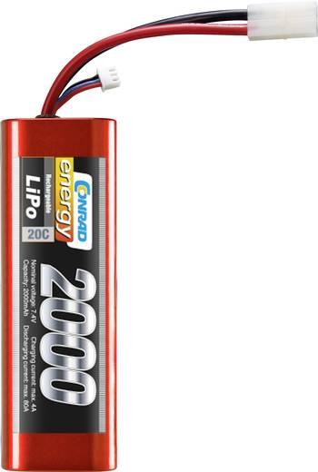 Modell akkupack 7,4V 2000 mAh 20C Eco-Line LiPo akku, Conrad energy 1414161