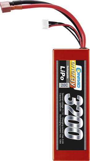 Modell akkupack 11,1 V 3200 mAh 20C Eco-Line LiPo akku, Conrad energy