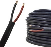 AIV 23312A Hangszóró kábel FLRYY 2 x 0.75 mm² Piros, Fekete méteráru AIV