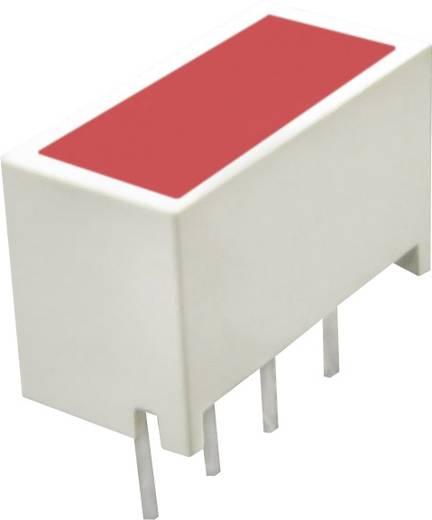 Lapos LED szuperpiros 20x10mm