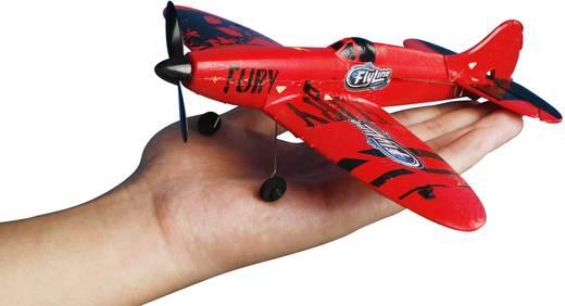 Elektromos RC repülőmodell rádiós távirányítóval, piros színű flyline - D15