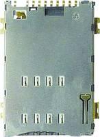 SIM Kártyafoglalat Érintkezők száma: 8 Nyomás, Nyomás Yamaichi FMS008-6001-0 Kapcsolóval 1 db Yamaichi