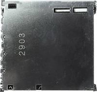 Yamaichi SD, MMC Kártyafoglalat Érintkezők száma: 9 Nyomás, Nyomás FPS009-2903-0 Kapcsolóval 1 db Yamaichi