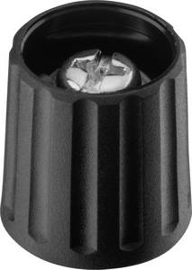 Forgatógomb, fekete, (Ø x Ma) 15 x 16.2 mm Ritel 26 15 60 3 Ritel