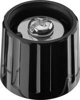 Forgatógomb, fekete, (Ø x Ma) 21 x 17.5 mm Ritel 20 21 60 3 (20 21 60 3) Ritel