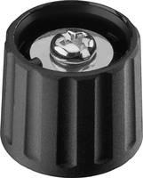 Forgatógomb, fekete, (Ø x Ma) 21 x 17.5 mm Ritel 26 21 60 3 (26 21 60 3) Ritel