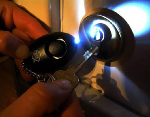 Kulcstartós pánikriasztó, LED világítással kh-security 100103