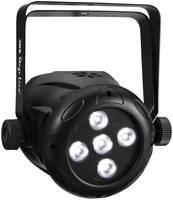 IMG STAGELINE PARL-74RGBW LED-es pinspot LED-ek száma: 5 db 8 W Fekete IMG STAGELINE