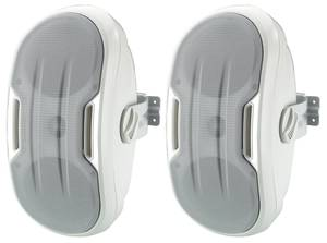 Monacor MKS-248/WS Fali hangfal 100 W 8 Ω Fehér 1 pár Monacor