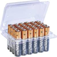 Mikroelem AAA, alkáli mangán, 1,5V, 24 db, Duracell Pluspower Box LR03, AAA, LR3, AM4M8A, AM4, S (DUR8201B) Duracell