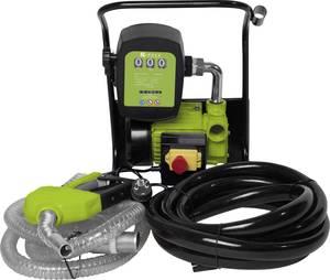 Elektronikus dízel- és fűtőolaj szivattyú 230 V Zipper 2400 l/óra Védőérintkezős dugóval, Számlálóval Zipper