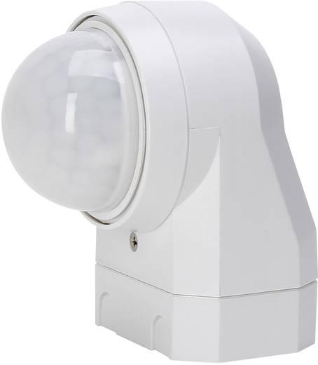 Falra szerelhető PIR mozgásérzékelő, relés, fehér, IP54, 240°, Kopp 824617011