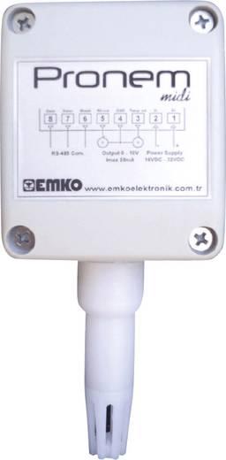 Hőmérséklet szabályozó, -20 - 80 °C, 35 x 60 x 70 mm, Emko