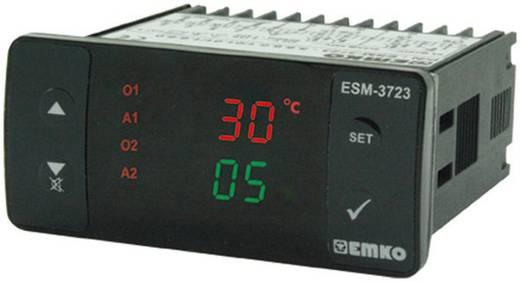 Hőmérséklet szabályozó, relés, 3 A, SSR, 65 x 76 x 35 mm, Emko