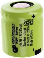 1/3 AA akku NiMH 1,2V 250 mAh Flat-Top GP Batteries GP25AAH GP Batteries