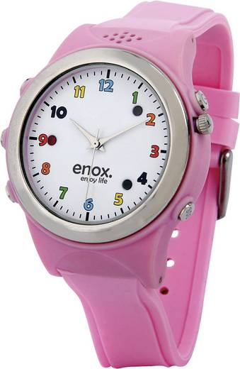 Okosóra, beépített GPS nyomkövetővel, adatgyűjtővel, rózsaszín ENOX 29242C5