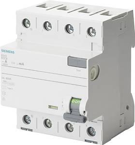 Siemens 5SV3346-6KL FI védőkapcsoló 4 pólusú 63 A 0.03 A 400 V Siemens