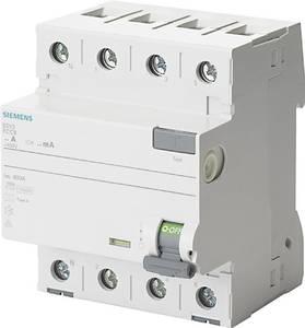 Siemens 5SV3646-6KL FI védőkapcsoló 4 pólusú 63 A 0.3 A 400 V Siemens