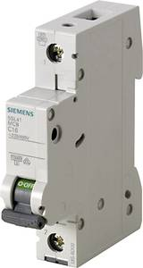 Siemens 5SL4101-7 Vezeték védőkapcsoló 1 pólusú 1 A 230 V, 400 V Siemens